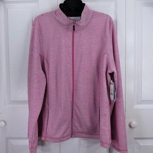 NWT be inspired Activewear Zip Athletic Jacket 2X